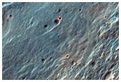 Eastern Floor of Roddy Crater