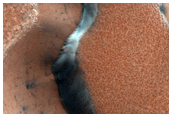 Large Alcove Dunes Dubbed Palma