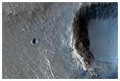 The Case of the Missing Crater Rim