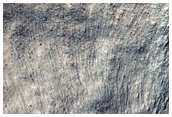 Thermally Distinct Crater Near Reull Vallis