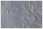 Chain of Collapse Pits Near Olympica Fossae
