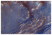 Meander in Channel in Cydonia Mensae