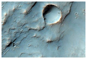 Interesting Mineralogy in Crater Ejecta