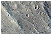 Crater Ejecta Blanket