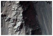 Glissements de terrain dans Coprates Chasma