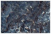 Ystlys Orllewinol Tir yn Hydrae Chasma