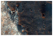 Safle Glanio posib i ExoMars yn Mawrth Vallis