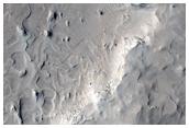 Layered Bedrock in Arabia Region