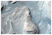 Monitor Slopes in Gale Crater