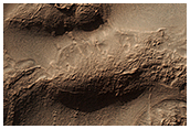 Honeycomb-Textured Landforms in Northwestern Hellas Planitia