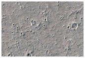 Flow Source East of Olympus Mons