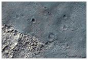 Rock on Plains Near Coprates Chasma