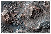 Layered Deposits in Uzboi Vallis