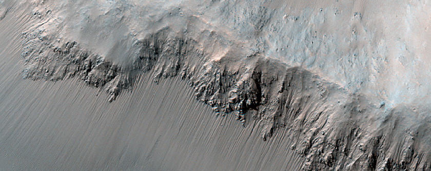 Monitor Slopes in Juventae Chasma