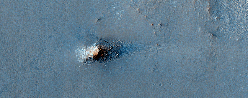 Sample Terrain between Candidate Landing Sites for 2020 Mission