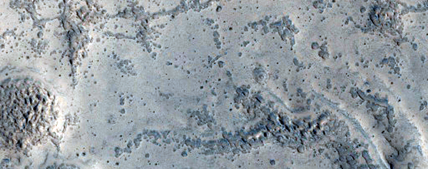 Possible Fan Deposit in North Arabia Terra