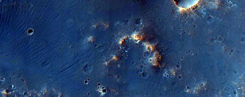 منطقة مرشحة كموقع هبوط لإكسو مارس في وادي مورث (Mawrth Vallis)