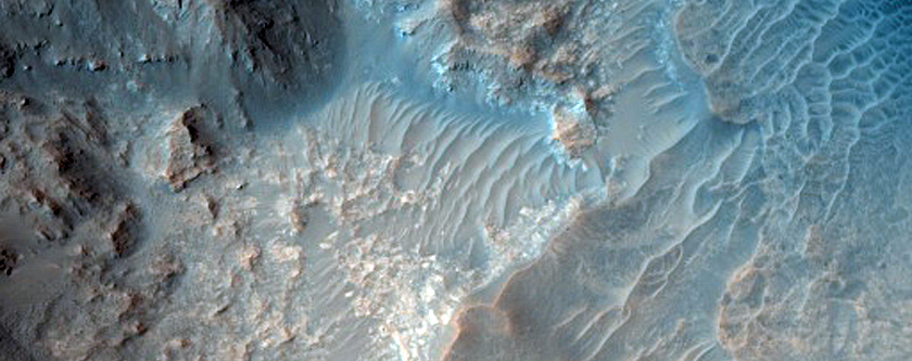 Monitor Slopes in Acidalia Planitia