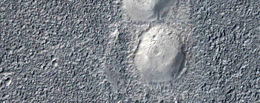 Hólaröð á Utopia Planitia