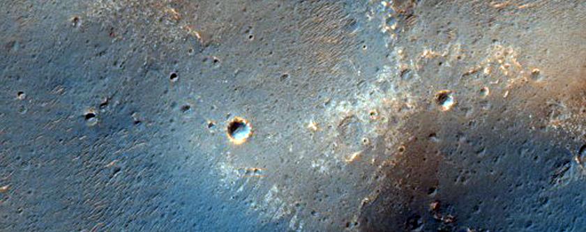 Ionad Féideartha Tuinsimh don Exo Mars in Oxia Palus