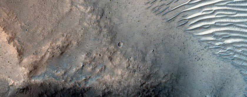 Hydrated Materials in Nanedi Valles