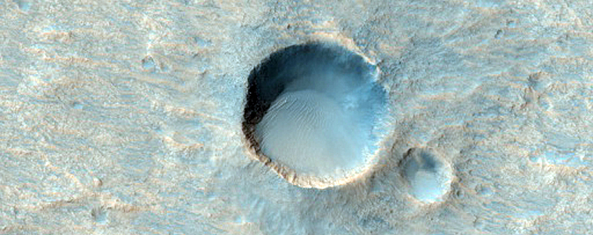 Candidate ExoMars Landing Site in Oxia Palus