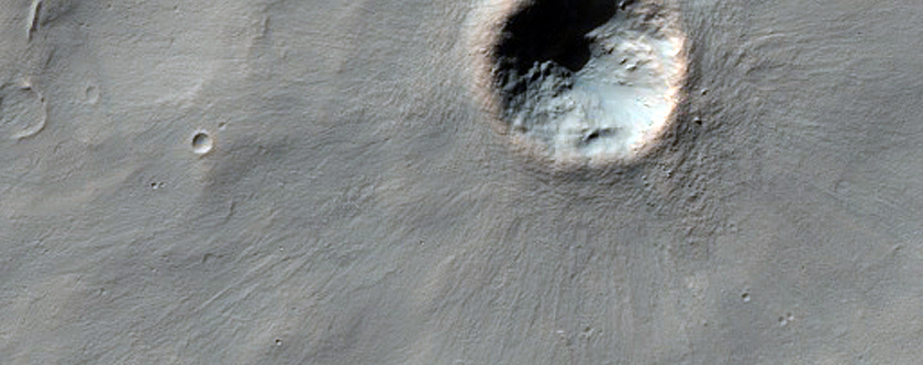 Very Fresh Small Crater