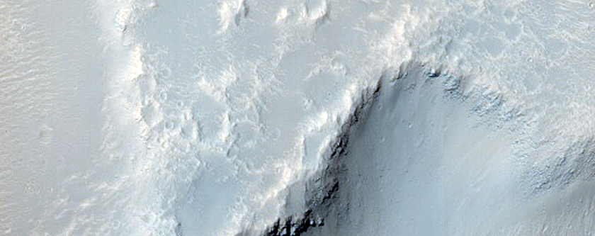 Hebrus Valles Channel and Pit