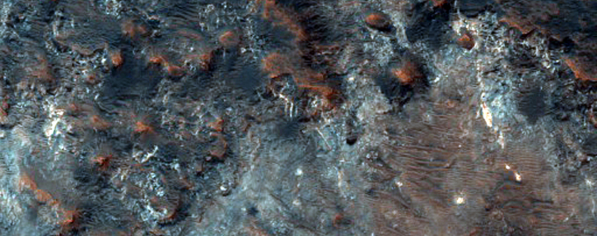 Candidate ExoMars Landing Site in Mawrth Vallis