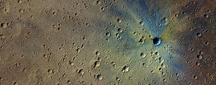 A New Impact Crater