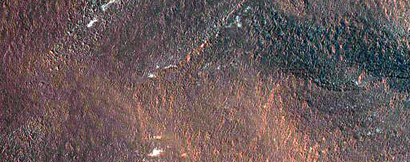 Scarps in North Polar Layered Deposits