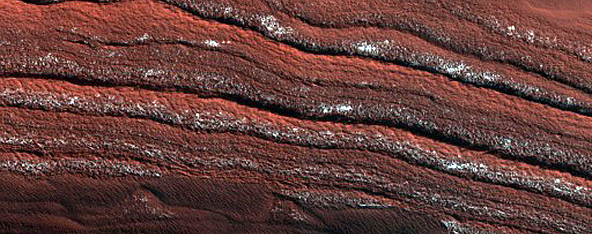 Planum Boreum Aeolian Stratigraphy