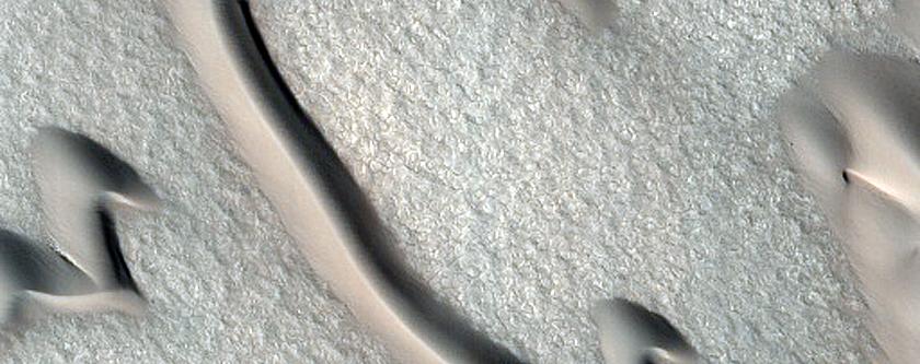 Furrows on Dunes