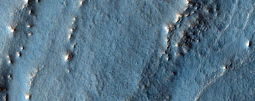 Glacier-Like Form in Lyot Crater