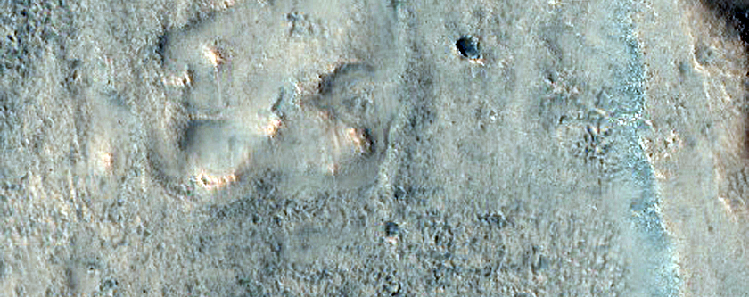 Troughs and Ridges in Chryse Planitia