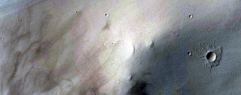 Crater Wall Slope Monitoring