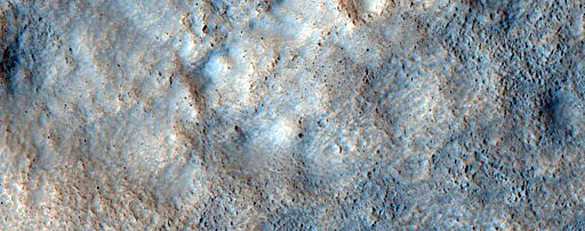 Contact East of Bamberg Crater
