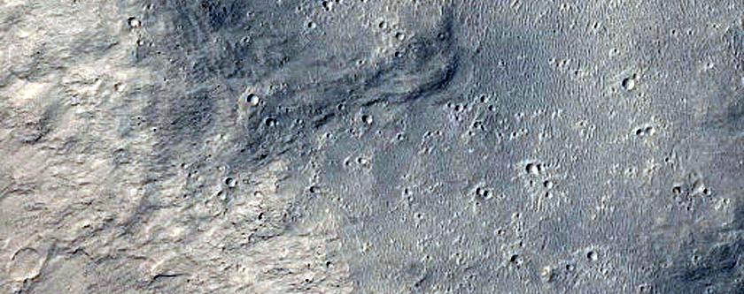 Landforms in Aeolis and Zephyria Regions