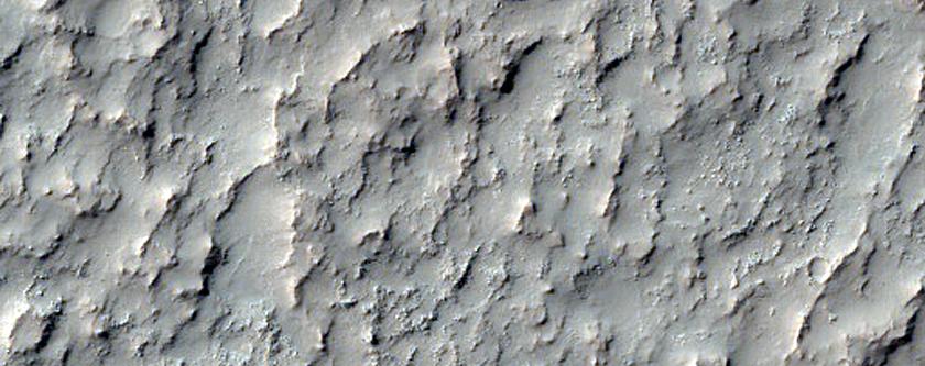 Rocky Crater Floor