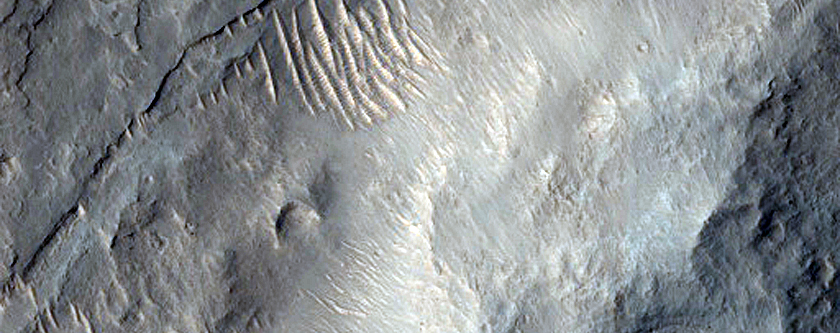 Layered Bedrock in Gale Crater