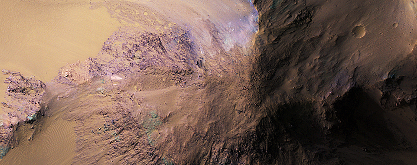 The Hills in Ganges Chasma