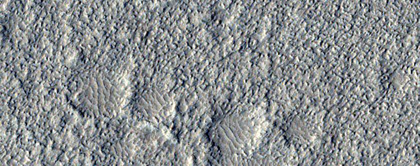 Acidalia Planitia Dust Devil Region