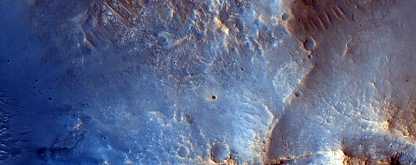 17-Kilometer Diameter Crater in Arabia Terra