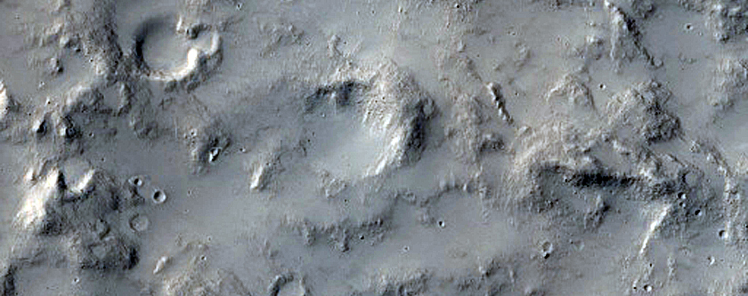Crater Fill Material