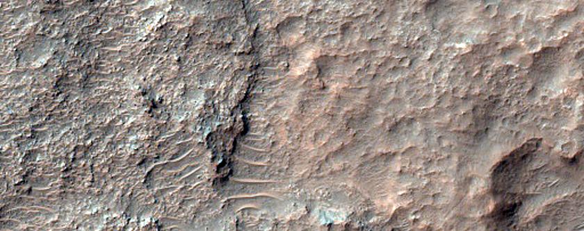 Crater Floor Materials
