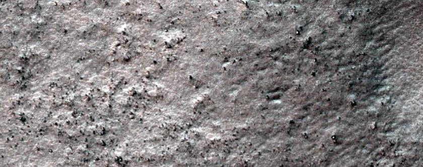 Terrain South of Coblentz Crater
