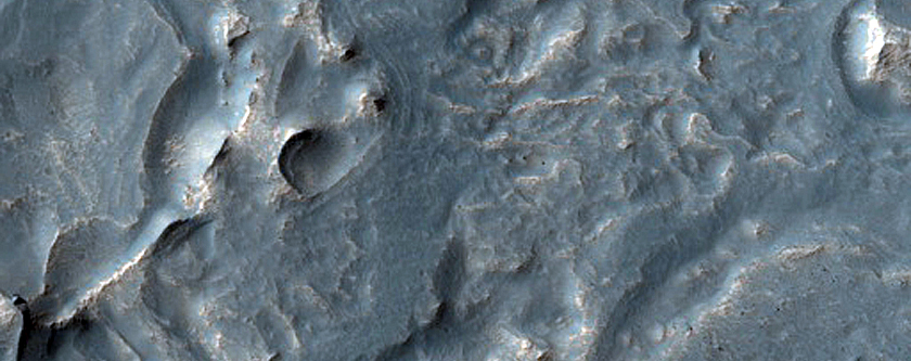 Noctis Labyrinthus Floor Deposits
