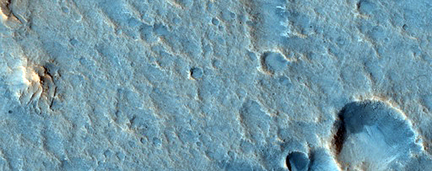 Streamlined Promontory Near Ares Vallis