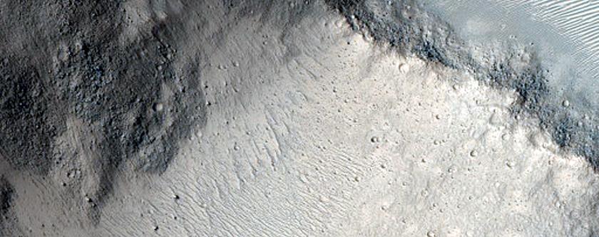 Possible Early Stage Chaos along Shalbatana Vallis