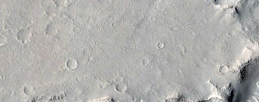 Ridges in Isidis Planitia